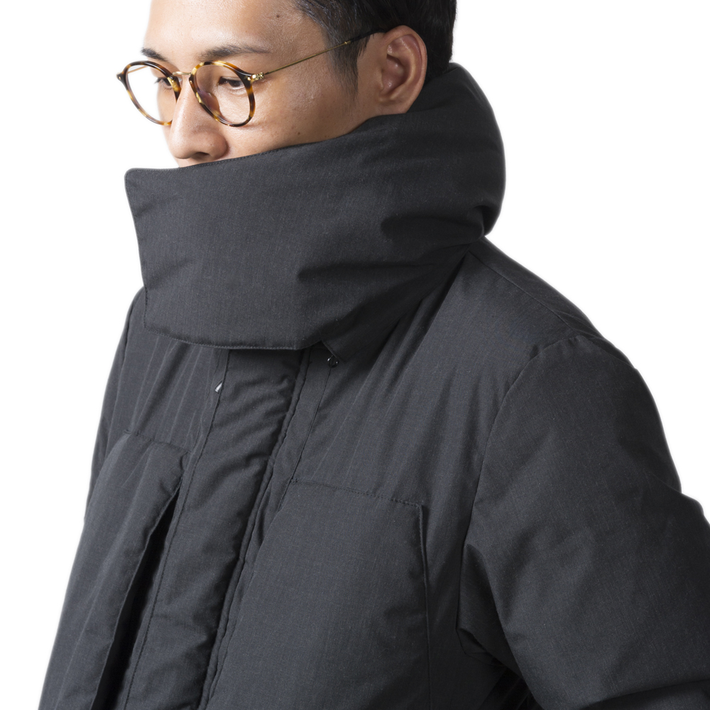 tent-Mark DESIGNS UTILITY CAMP DOWN JACKET【ベージュ Lサイズ】
