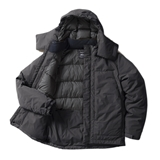 tent-Mark DESIGNS UTILITY CAMP DOWN JACKET【チャコール XLサイズ】