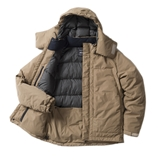 tent-Mark DESIGNS UTILITY CAMP DOWN JACKET【ベージュ M サイズ】