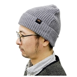 tent-Mark DESIGNS RIB WATCH CAP【グレー】