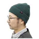 tent-Mark DESIGNS RIB WATCH CAP【グリーン】